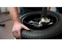Tyre Fitter With Fast Fit Service Experience Required Full Time Hounslow - Wages Negotiable