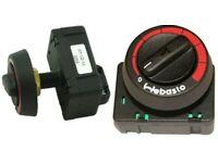 Webasto Heater Rotary Controller Rheostat 12V or 24V 1322581A