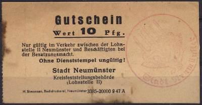 [11857] - 1947: NOTGELD NEUMÜNSTER, Kreisfeststellungsbehörde (Lohnstelle II), 1