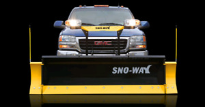 SnoWay 26R snow plow used 1.5 winters. Like New. Stored indoors