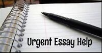 ESSAY/Assignment Writing Help - KITCHENER & WATERLOO AREA