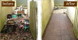 Man and van hire.household,garage,cellar clearances, rubbish & garden waste removals.