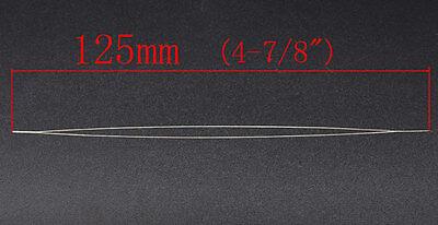 1 EASY THREADING ~ BEADING NEEDLE ~ 12.5cm x 0.6mm ~JEWELLERY~CORD~ELASTIC (74G)