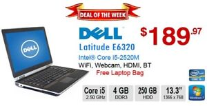 ►►Deal of the Week:  DELL Latitude E6320 Core i5-2520M 4GB 250GB