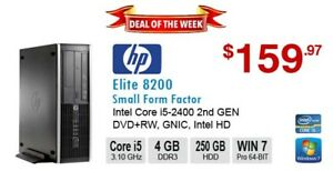►►Deal of the Week: HP Elite 8200 Corei5-2400 3.4GHz 4GB 250GB D