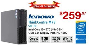 ►►Deal of the Week: ThinkCentre M73 Core i5-4570 3.6GHz 8GB 250G