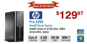 ►►Deal of the Week: HP Compaq Pro 6300 Core i3 2120 3.3GHz 4GB 2