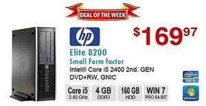 ►►Deal of the Week: HP Elite 8200 Corei5 2400 3.4GHz 4GB 160GB D