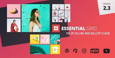 Essential Grid Gallery Wordpress Plugin  Limted Time - Updated