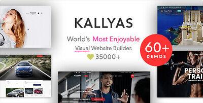 Kallyas Creative Ecommerce Multi-purpose Wordpress Theme Lastest Version