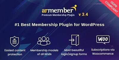 Armember Wordpress Membership Plugin Lastest Version Original Files