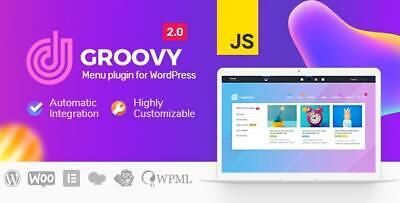 Groovy Menu Wordpress Mega Menu Plugin Lastest Version Original Files