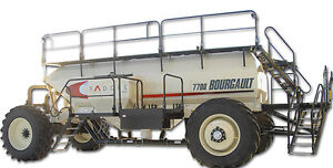 bourgault 7700 air tank DEMO