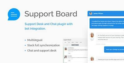 Support Board - Chat And Help Desk Bot Chat  Lifetime Unlimited