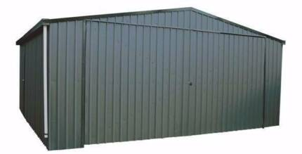custom steel sheds garages