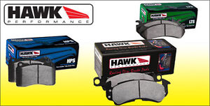 Hawk brake pads HPS HP+ LTS