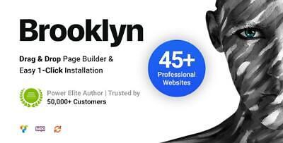 Brooklyn Creative Multi-purpose Responsive Wordpress Theme Lastest Version