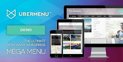 Ubermenu Wordpress Mega Menu Plugin Ultimate Responsive - Updated