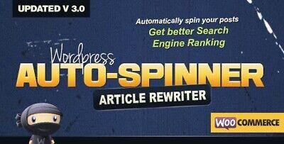 Auto Spinner Rewrites Wordpress Posts Automatically Wordpress Plugin