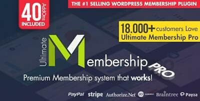 Ultimate Membership Pro Wordpress Membership Plugin - Updated