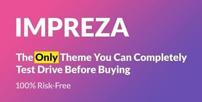 Impreza Multi Purpose Wordpress Theme Lastest Version Original Files