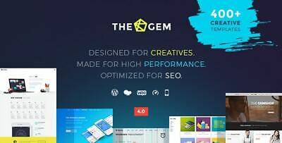 Thegem Creative Multi-purpose Highperformance Wordpress The Lastest Version