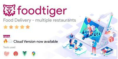 Foodtiger Food Delivery Multiple Restaurants Php Script