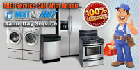 A1 24/7 Affordable Quick Appliance Repair and install. Call us f
