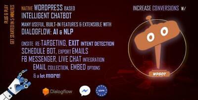 Chatbot 9.8.3 For Wordpress Wordpress Plugin