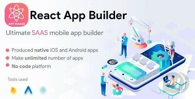 React App Builder - Mobile App Builder Software - Saas