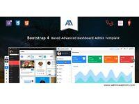 Bootstrap Laravel Admin Template-Admire