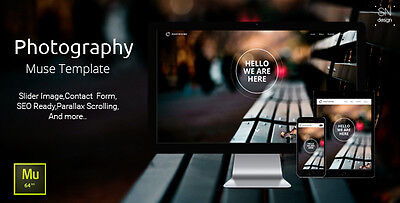 Website Html - Photography Muse Template  Hosting Domain