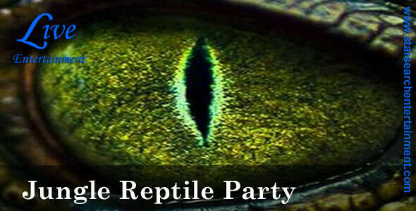 JUNGLE REPTILE PARTY FOR KIDS - LEINSTER