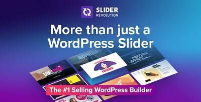 Slider Revolution Responsive Wordpress Plugin - Latest Ver. 6.3.5