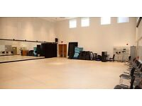 Rehearsal space needed in exchange of Drama Workshops