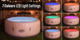 Lazy Spa Paris Jacuzzi Brand New Fully Boxed
