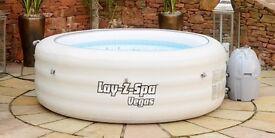 Lay Z spa Vegas inflatable hot tub- BNWB