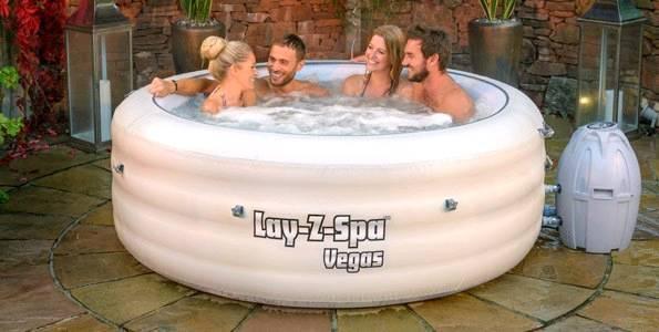 Bestway Lay Z Spa Vegas Hot Tub 4-6 people Jacuzzi