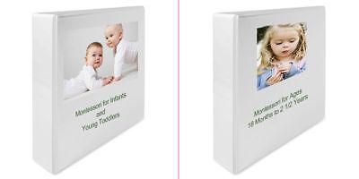 Montessori Teaching Curriculum Homeschool Baby - PreK +