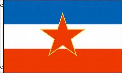 Flag Of Old Yugoslavia 3x5 Ft Yugoslav Yugoslavian Former Yugoslavia 1945 - 1992