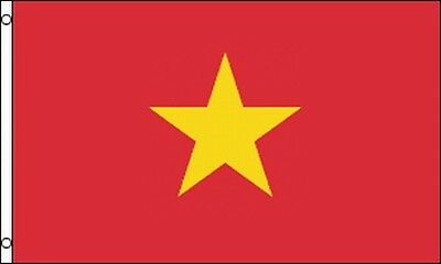 Vietnamese Flag 3x5 Ft Socialist Republic Of Vietnam