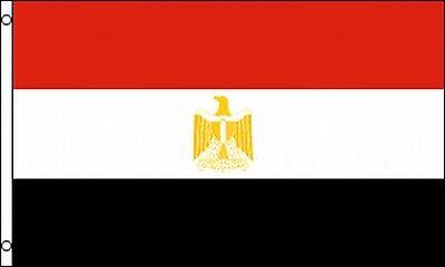 Egyptian Flag 3x5 Ft Banner Egypt Revolution Uae Arab Cairo Eagle Of Saladin