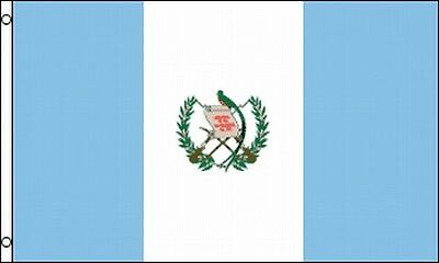 Flag Of Guatemala 3x5 Ft Guatemalan Banner Metal Grommets -