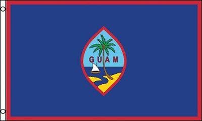 Flag Of Guam 3x5 Ft Us Unincorporated Territory Of Guam Marianas Islands Pacific