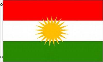 Flag Of Kurdistan 3x5 Ft Kurds Autonomous Kurdish Region In Iraq Independence