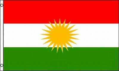 Flag Of Kurdistan 3x5 Ft Kurds Autonomous Kurdish Region In Iraq Independence