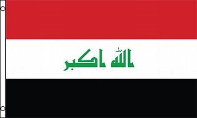 Republic Of Iraq Flag 3x5 Ft Iraqi Banner Baghdad Takbir Arab Liberation