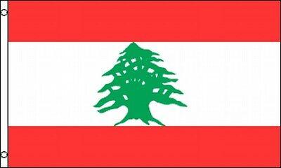 Flag Of Lebanon 3x5 Ft Republic Of Lebanon Lebanese Country Cedar Tree Beirut