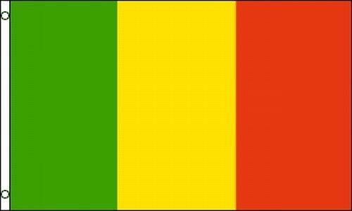 Flag Of Mali 3x5 Ft Country Nation African Timbuktu Republic Of République Du