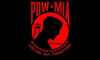 Red POW MIA Flag 3x5 Prisoner of ...